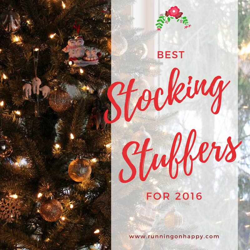 Best Stocking Stuffers For 2016 Running On Happy
